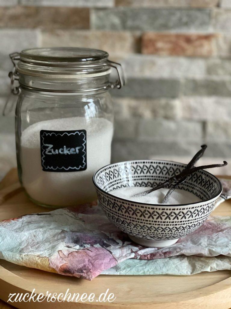 vanillezucker selber machen thermomix