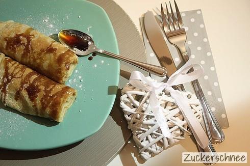 Haferflocken Pfannkuchen