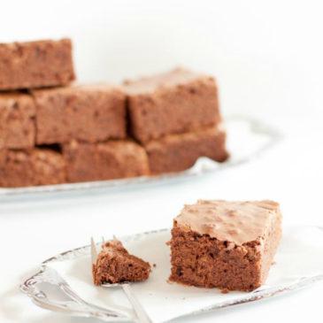 Endorphine frei: Leckere Brownies anstatt Sonnenschein