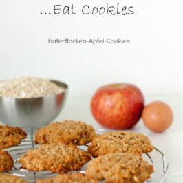 Haferflocken Apfel Cookies bei Sweetpie