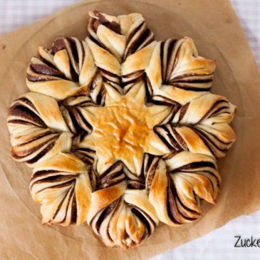 Eine hippe Nutellablume zum World Nutella Day