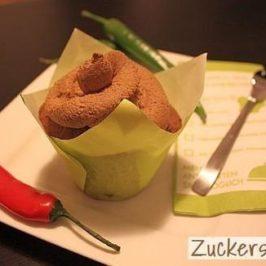 Chili-Schoko-Cupcake