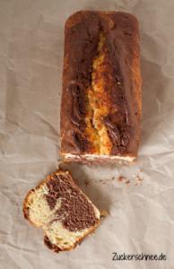 Zuckerschnee.de: Marmorkuchen