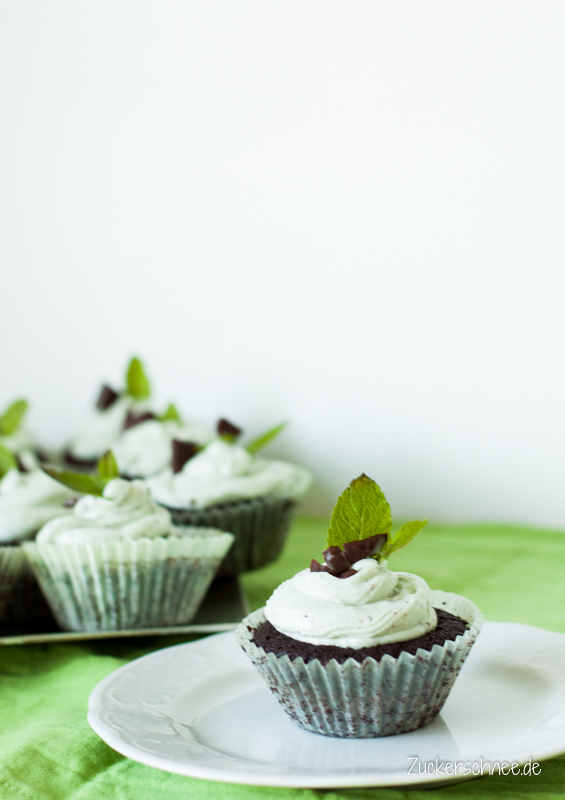 After Eight Cupcakes ohne Thermomix
