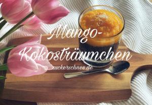 Chia Pudding mit Mango & Kokos