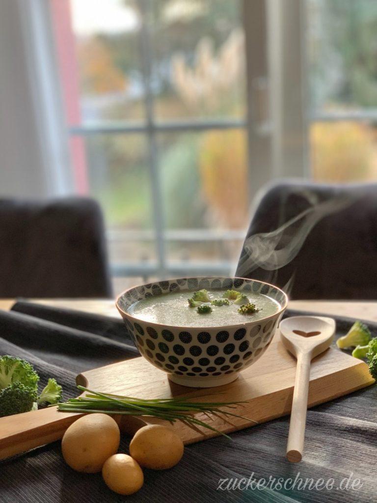 Brokkoli Suppe vegan Rezept