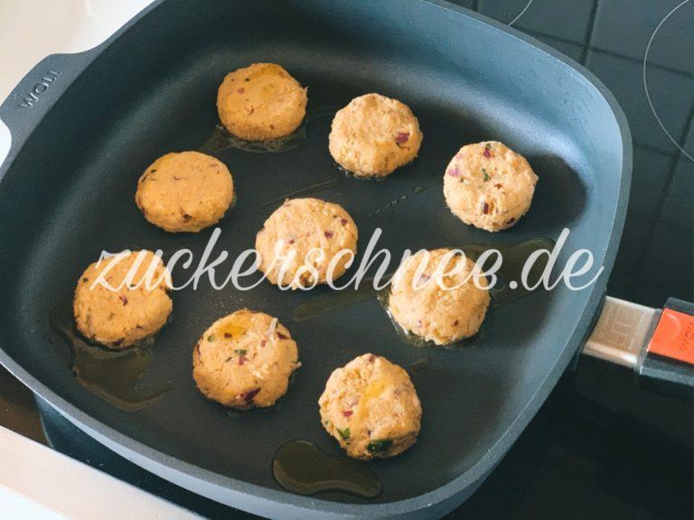 Falafel Rezept Pfanne