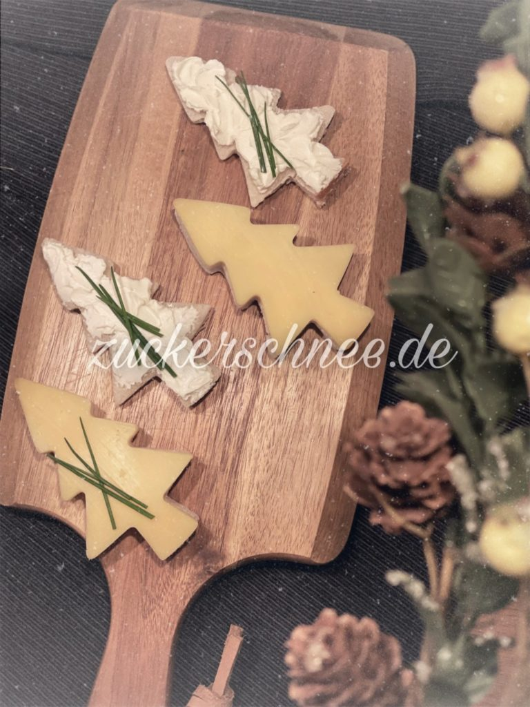 Weihnachtsfrühstück Idee - Fingerfood