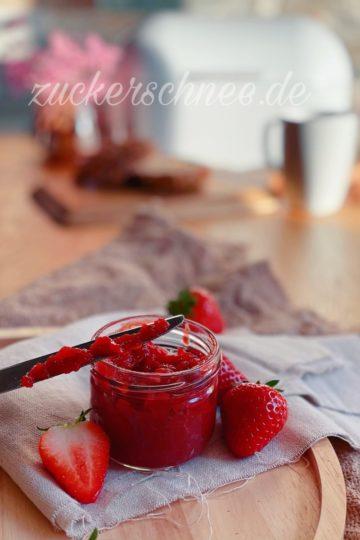 marmelade kochen ohne zucker