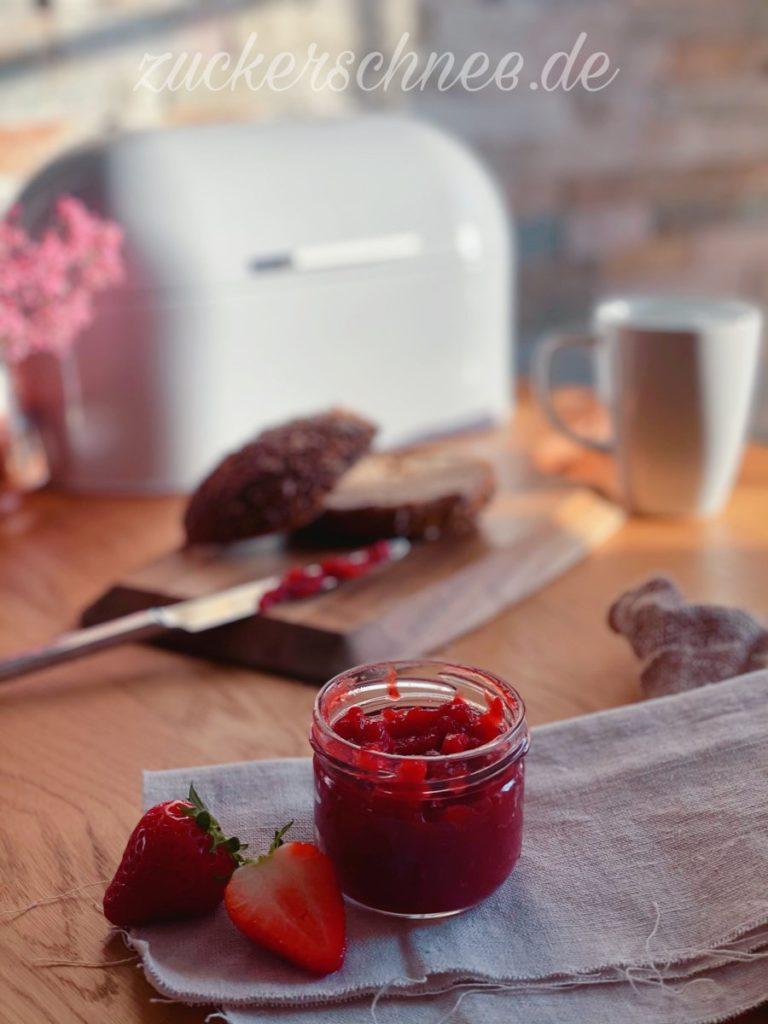 marmelade ohne zucker selber machen