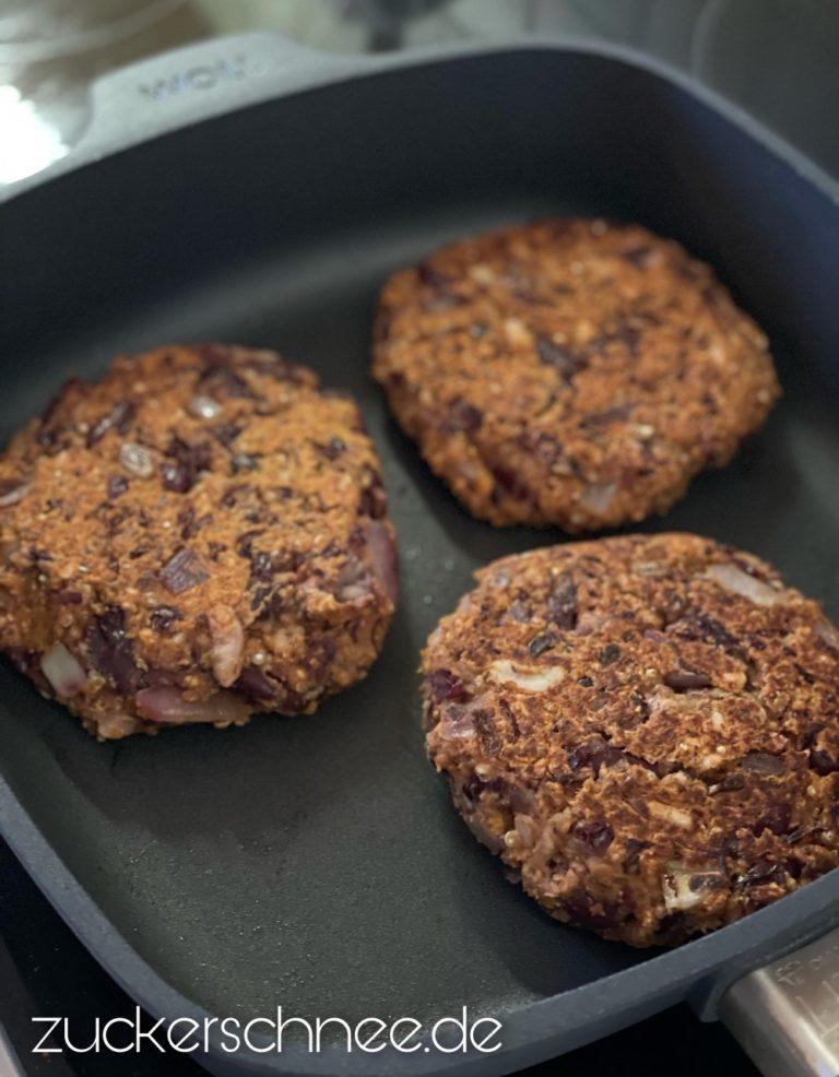 Vegane Burger Patties